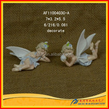 Newest polyresin decoration Hot Statue nude fairies