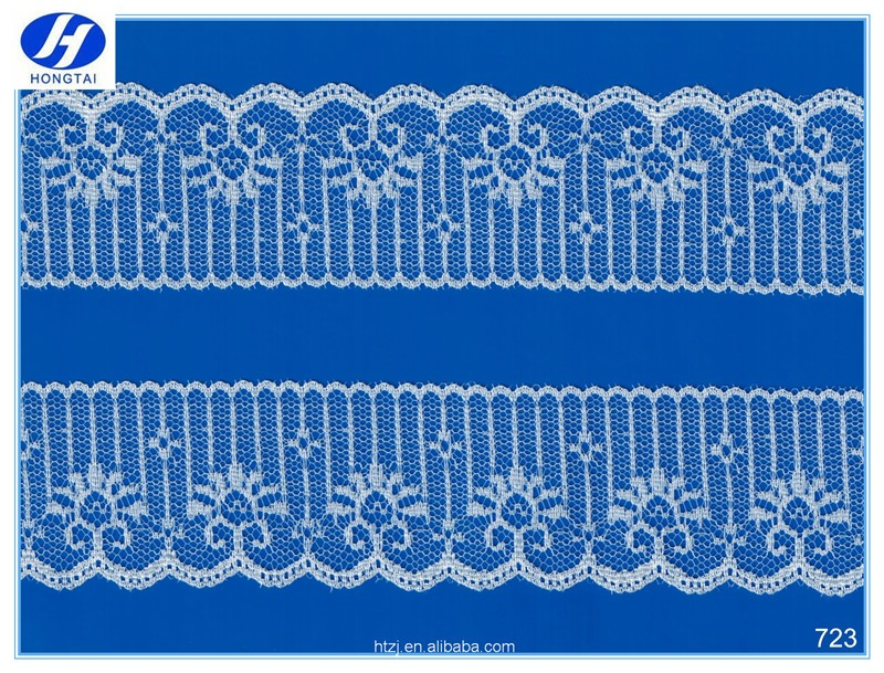 indian embroidery fancy laces / decorative lace trim/new fancy lace trim.Hongtai wholesale