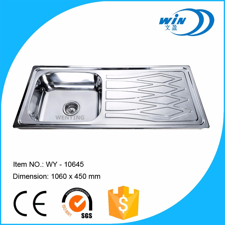 USA undermount stainless steel vegetable washing sink
