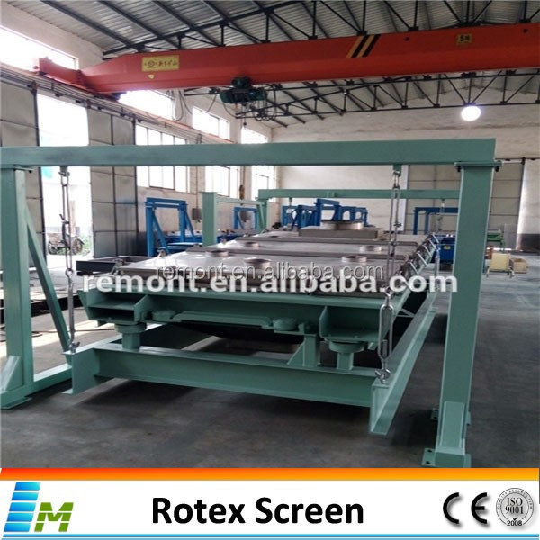 Gyratory screen antimony ore rotary sieve machine