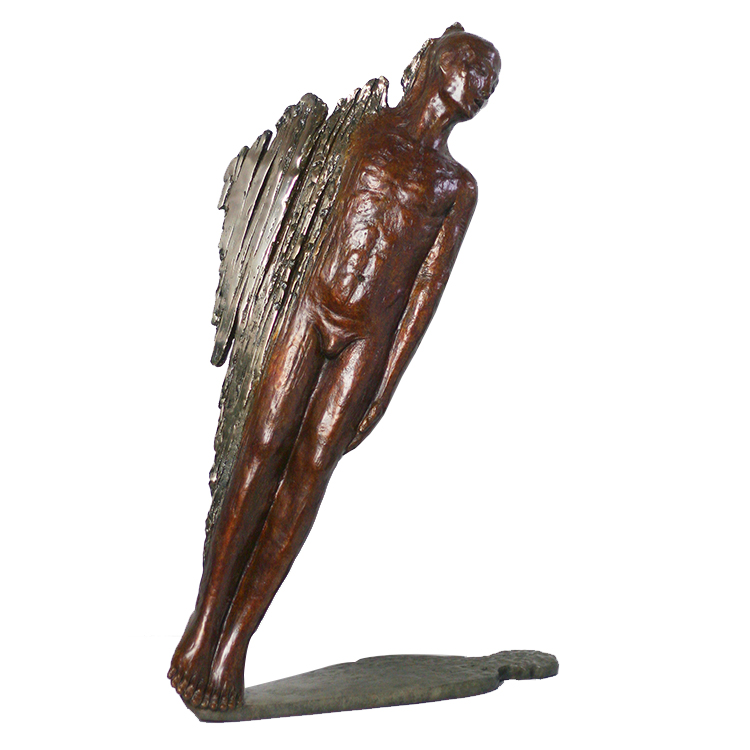 Best selling Cast Copper decor bronze nude man sculpture