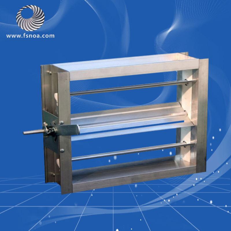 Metal duct outside air damper/air vent damper for hvac system ducted VCD