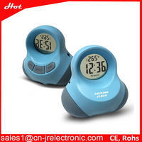 Save 10% cute design touch activate talking alarm clock