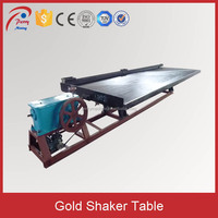 Small Gold Mine Equipment Shaker Table, Gold Shaker Table