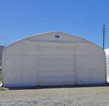 Outdoor big sizes 50 feet wide industrial Dome storage shelter water roof tent storage tent