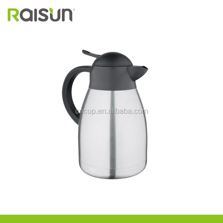 high quality stainless steel vacuum coffee pot for outdoor travel