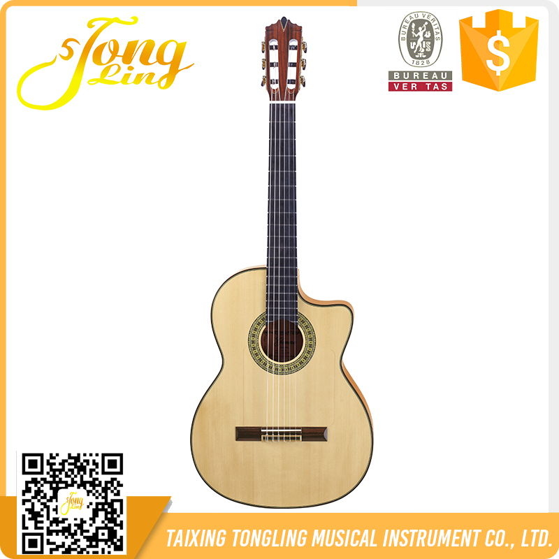 Tongling Quality Cool Unique Acoustic Classic Guitar Made in China TLGC-17