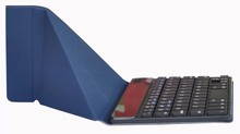 Bluetooth Ultra-Slim Aluminum Keyboard Cover with Stand for iPad 4 / 3 / 2 (Black)