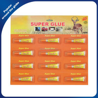 Aluminum Tube 3G Fast Dry 502 Super Glue Orange Card Packing