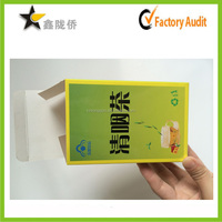 2016Hot sale cheap professional custom print logo essential oil packaging boxes