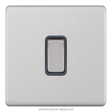 A060SL SATIN CHROME 20A D.P. ELECTRICAL LIGHTING WALL SWITCH FOR HOUSE