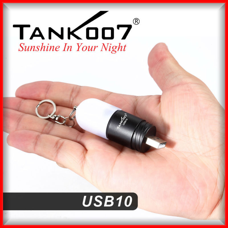 Lifetime warranty usb mini torch from Tank007 manufacturer