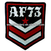 embroidered armband and insignia