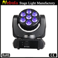 Nebula- 7 x 15w 4in1 mini led beam