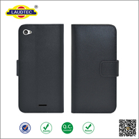 2016 New Arrival Case for Wiko Highway Pure 4g, Leather Flip Case for Wiko High Pure