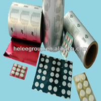 Cold Forming Compound Aluminum Film for Capsules Packaging