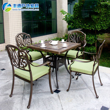 modern furniture dining set outdoor table chair set