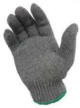 208H GREY 600 GRAMS 7 KNITTING COTTON SAFETY WORKING GLOVE