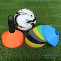 5cm Soft PE Material Sports Agility Marker Soccer Disc Training Cones