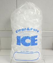 JTD manufacturers custom printed drawstring heavy duty plastic ice bag with string