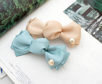 Adorable Candy Shape Silk Ribbon Hair Bow alligator clip Wholesale
