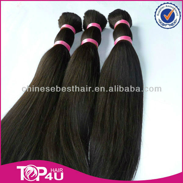 Wholesale 100% unprocessed virgin remy jet black Brazilian hair in dubai