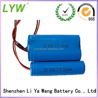 Brand names 5000mAh remote control car battery from LYW car battery factory