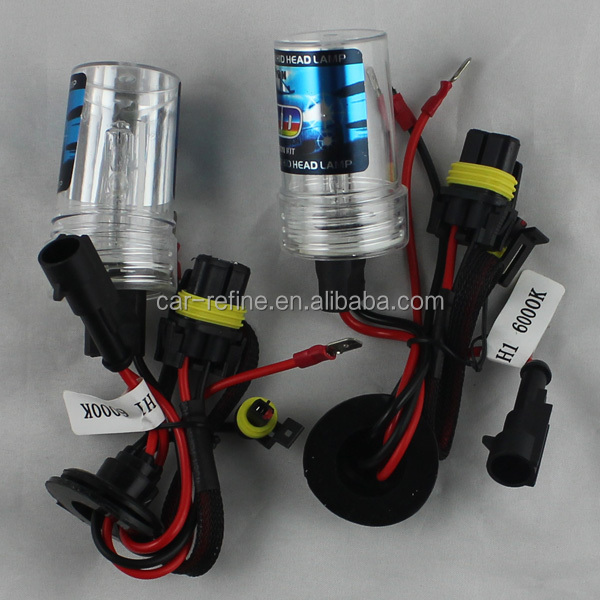 xenon h7 55w 6000k HID Car Headlight Bulbs H1 H3 H7 H8/H9/H11 9005 9006 880 881 hid xenon headlight