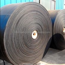 Multi-layer fabric core rubber conveyor belt/conveying belt
