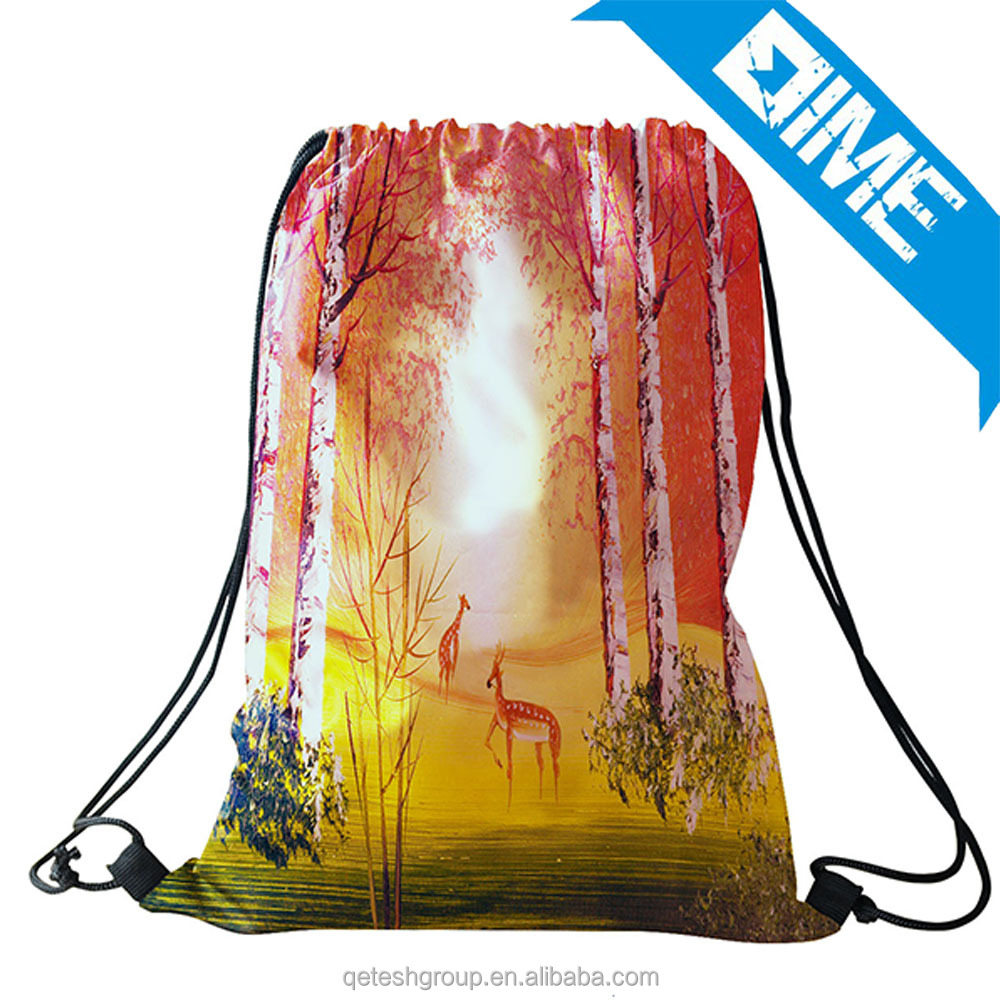 Fashion 420D Polyester High Quality Golf Drawstring Bag