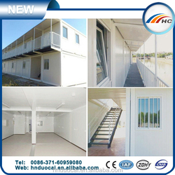 flat pack container house prefabricated