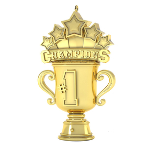 cheap gold five star statue cup award statue trophy