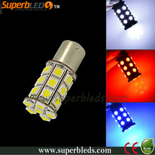 hot sale 1156/1157 led auto reversing light super white/red/blue color