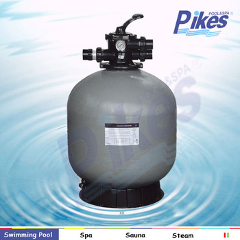 top mount and side mount swimming pool sand filter machine