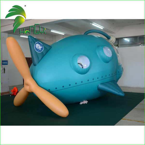 Custom Aircraft Model Zeppelin RC / Giant Inflatable Space Shuttle Toys / Remote Control Inflatable Helium