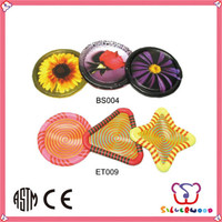 ICTI Factory china wholesale cheap custom 8 inch plastic frisbee