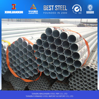 BS1387 Hot Dipped Galvanized Steel Pipe With Socket And Thread