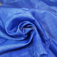 99% Polyester +1% carbon fiber esd/antistatic fabric for Workwear