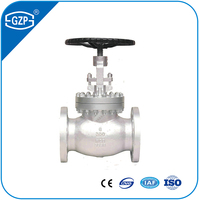 BS ANSI ASME ISO Casting Stainless Steel A351 CF3 CF3M CF8 CF8M CF8C Ball Body Flange Globe Valve for Class 150LB 300LB 600LB