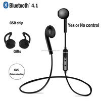 sport bluetooth earbuds for mobile ,bluethooth earphone for sports 4.1 Lightweight Wireless Stereo Headphones