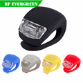 3 Modes 2 Led Bicycle Light Cycling Tai Light Warning Rear Silicone Led Taillight Shenzhen Factory