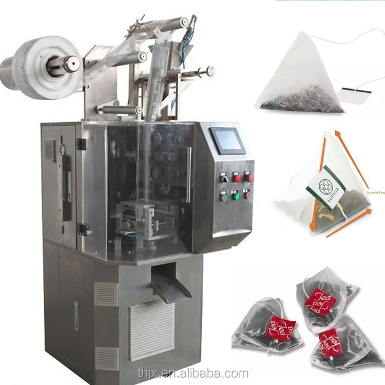 small triangle/pyramidal tea bag packaging machine prices