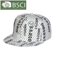 BSCI audit cheap fashion flat hat painter caps wholesale