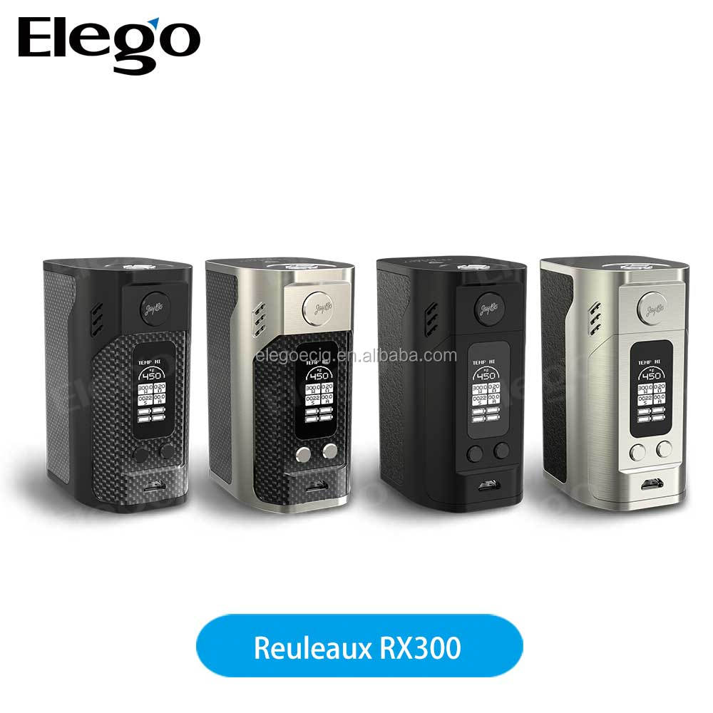 Wismec top selling products in alibaba Wismec RX 300 BOX MOD Reuleaux RX300 from Elego with best factory price