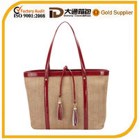 wholesale straw beach bags tote shopping bags