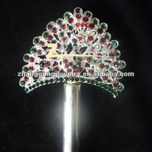 Beauty design pageant rhinestone scepter
