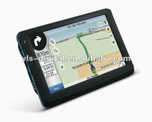 Best Sell 5 inch SiRF Atlas-V 600mhz GPS with AV-IN and Bluetooth Receiver