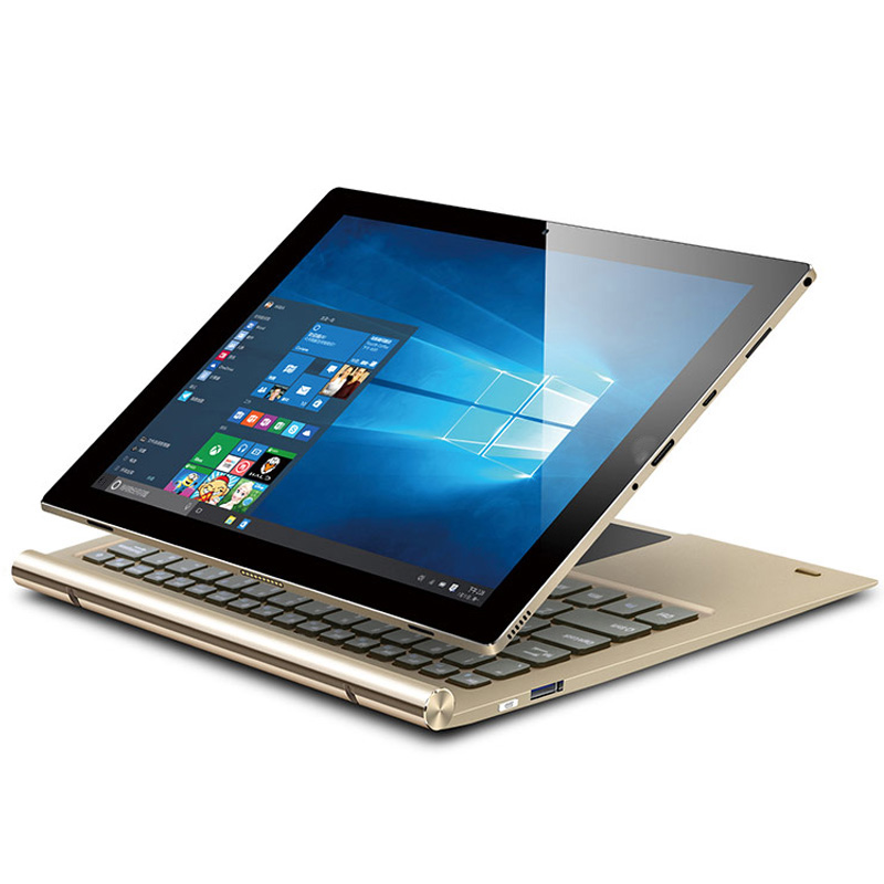 Portable 10.1 inch Z8350 2GB+32GB 2 in 1 detachable laptop with original IPS1280*800 HD Screen,2 in 1 tablet window 10