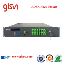 Rack Mount EDFA high power erbium-doped optical fiber signal Amplifier