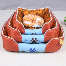 Eco-Friendly comfortable dog beds colorful pet bed